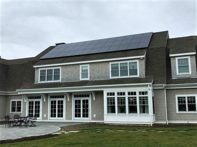 falmouth ma cape cod solar installation