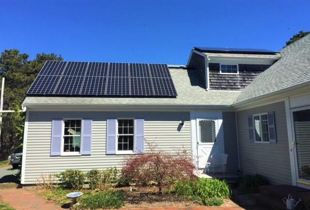 eastham ma cape cod solar installation