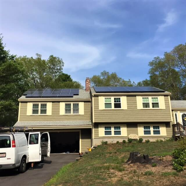 Kingston massachusetts south shore plymouth residential solar installation my generation energy