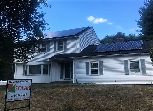 Lexington massachusetts greater boston residential solar installation my generation energy