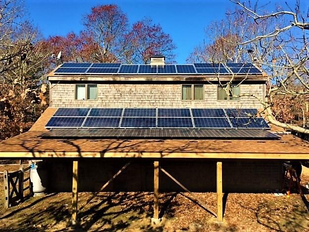 martha's vineyard cape cod islands solar installation