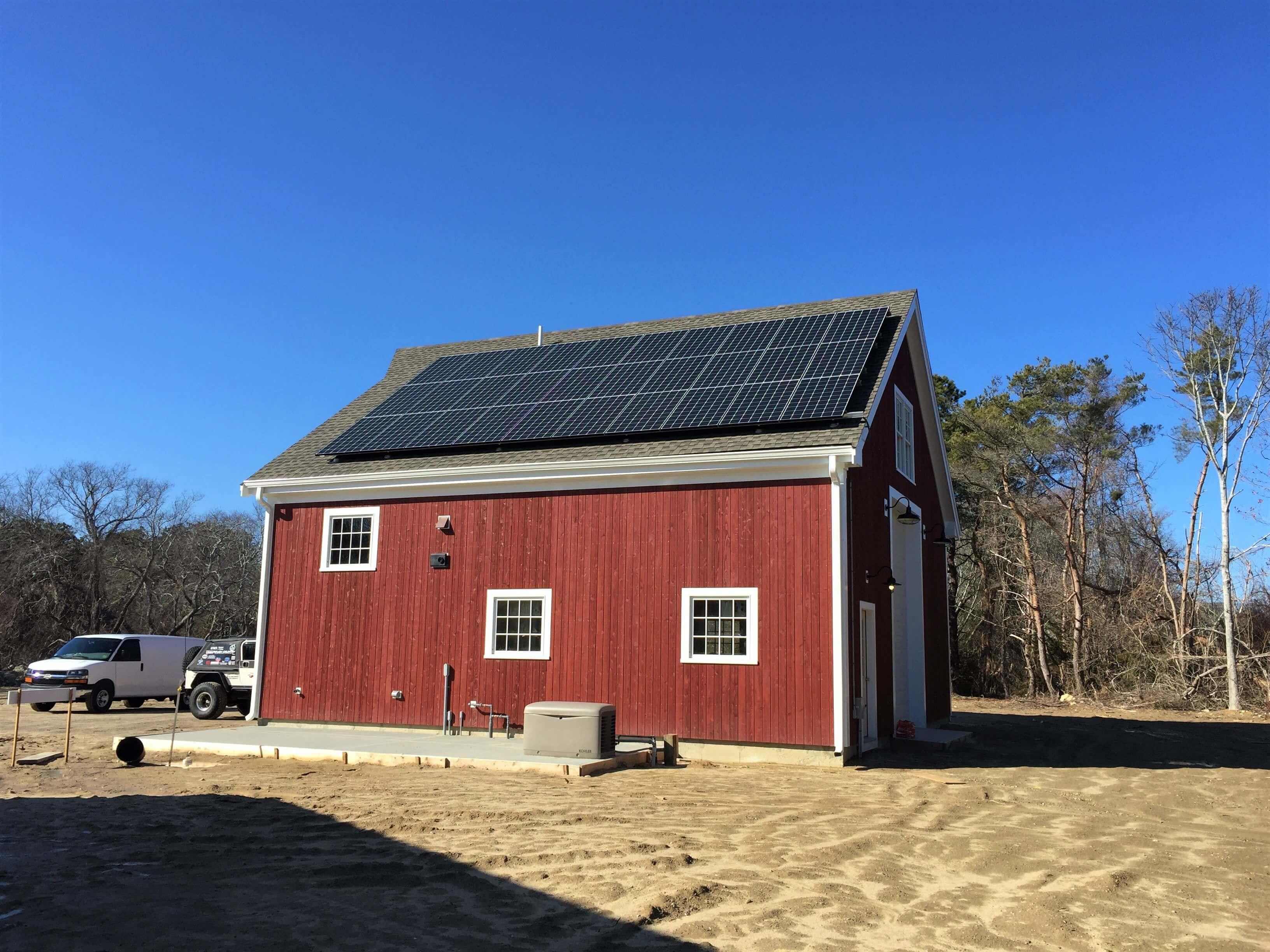 west barnstable ma cape cod solar installation