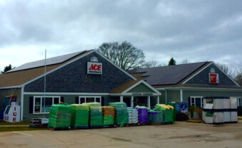 My Generation Energy Eastham Ace Hardware MA commercial solar
