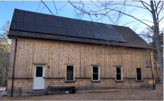 MGE cape cod solar residential installation brewster ma