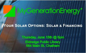 MGE Eldredge Library Solar Options Chatham 6.15.17