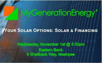 MGE Eastern Bank Solar Options Chatham 11.1.17
