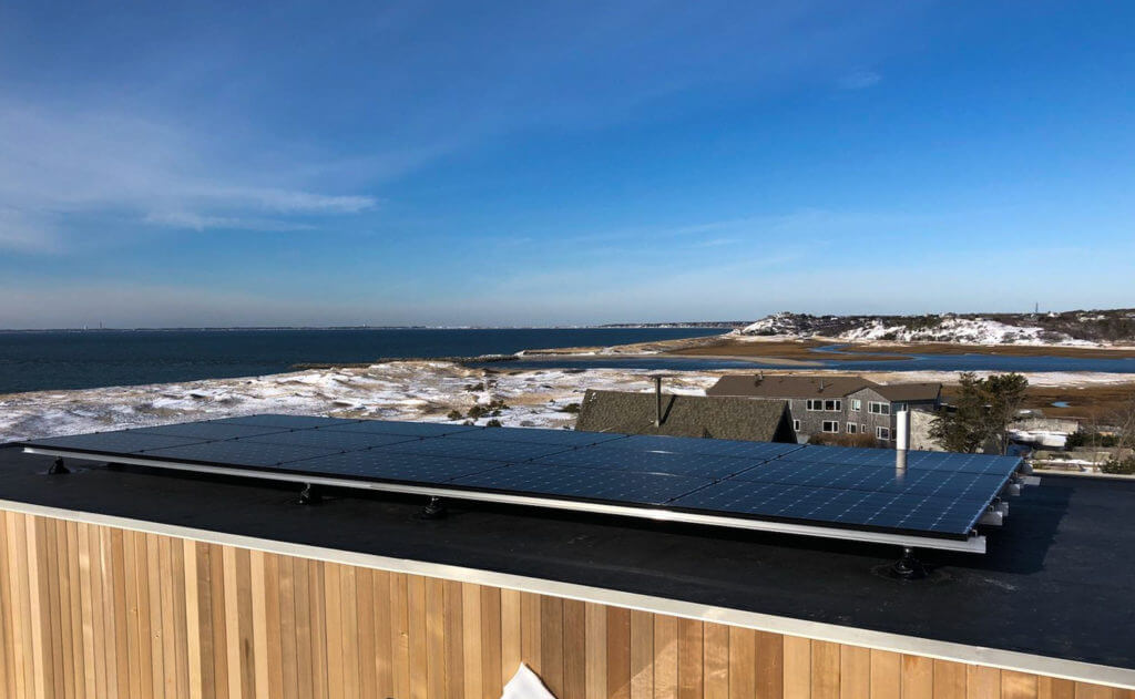 Truro Cape Cod Residential Solar Array