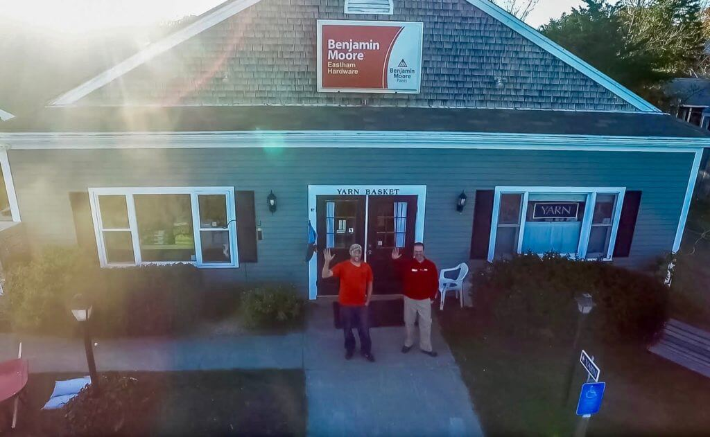 Eastham small business solar Ace Hardware