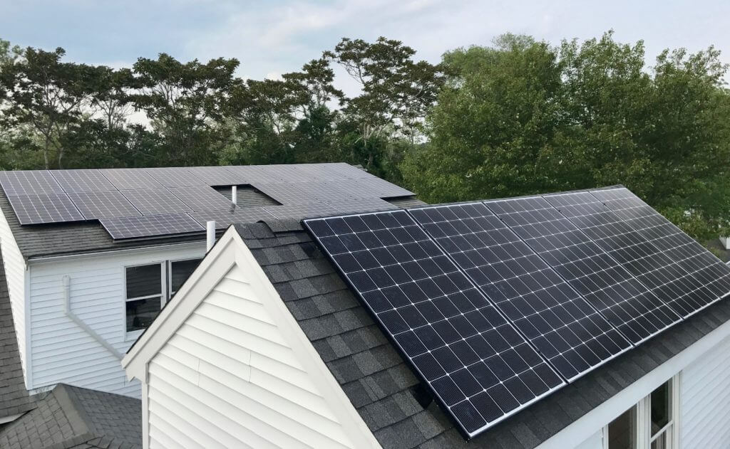 Dennis Massachusetts Cape Cod solar panel installation My Generation Energy