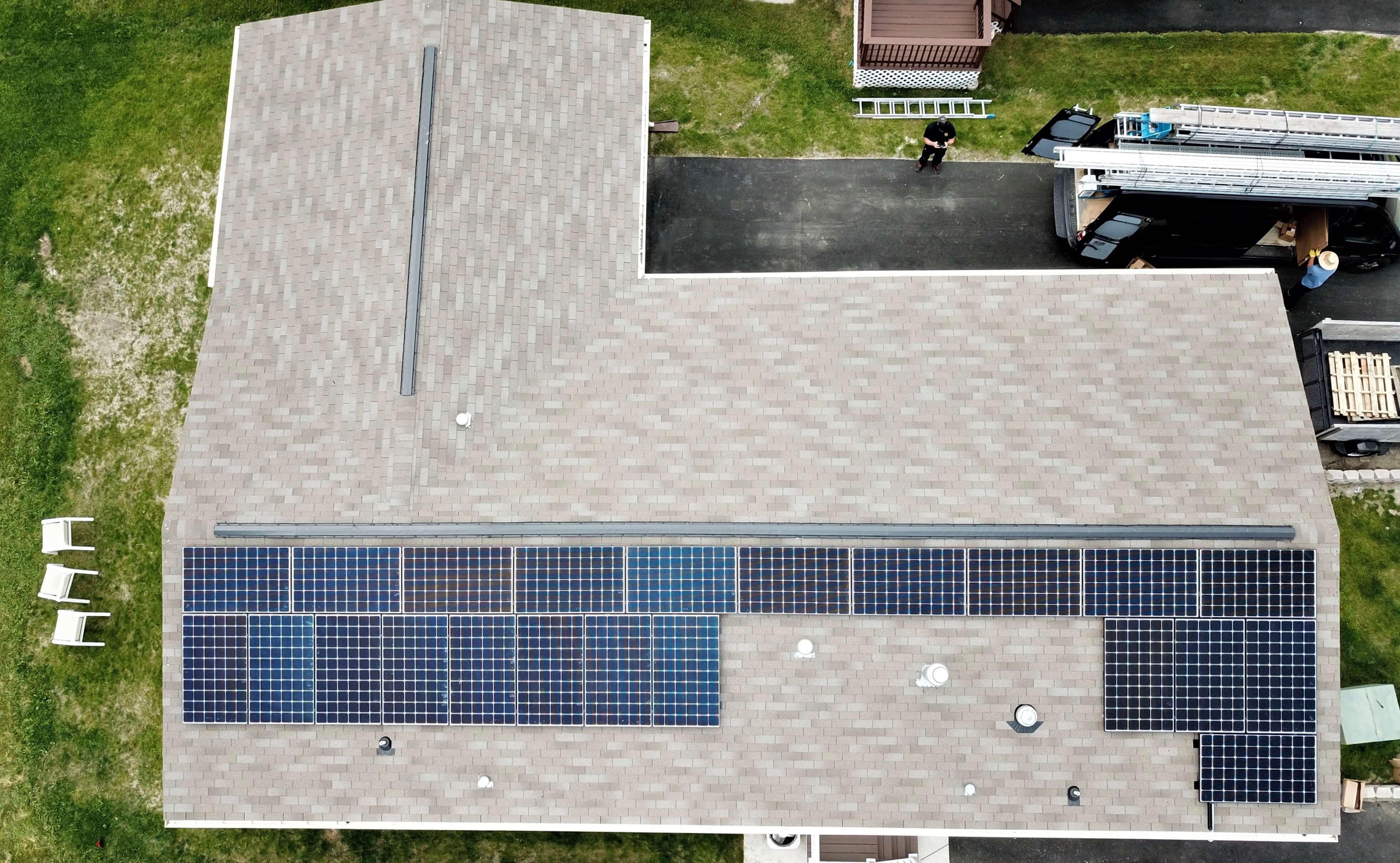 west bridgewater massachusetts residential solar installation
