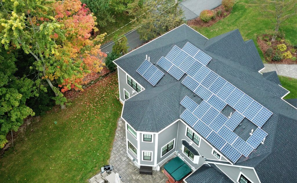 hingham massachusetts south residential solar installation