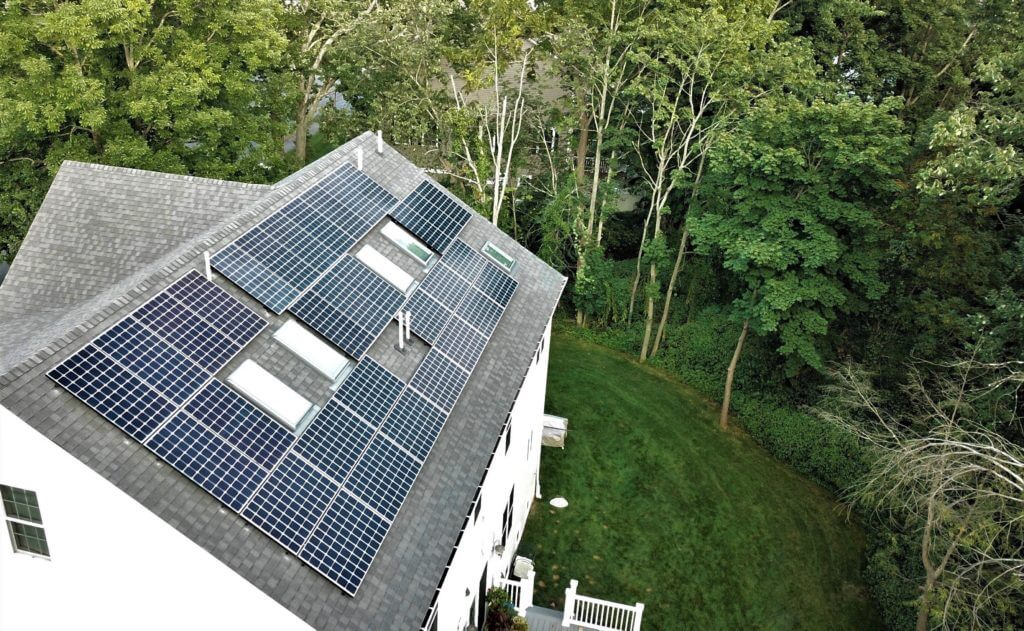 needham massachusetts south residential solar installation