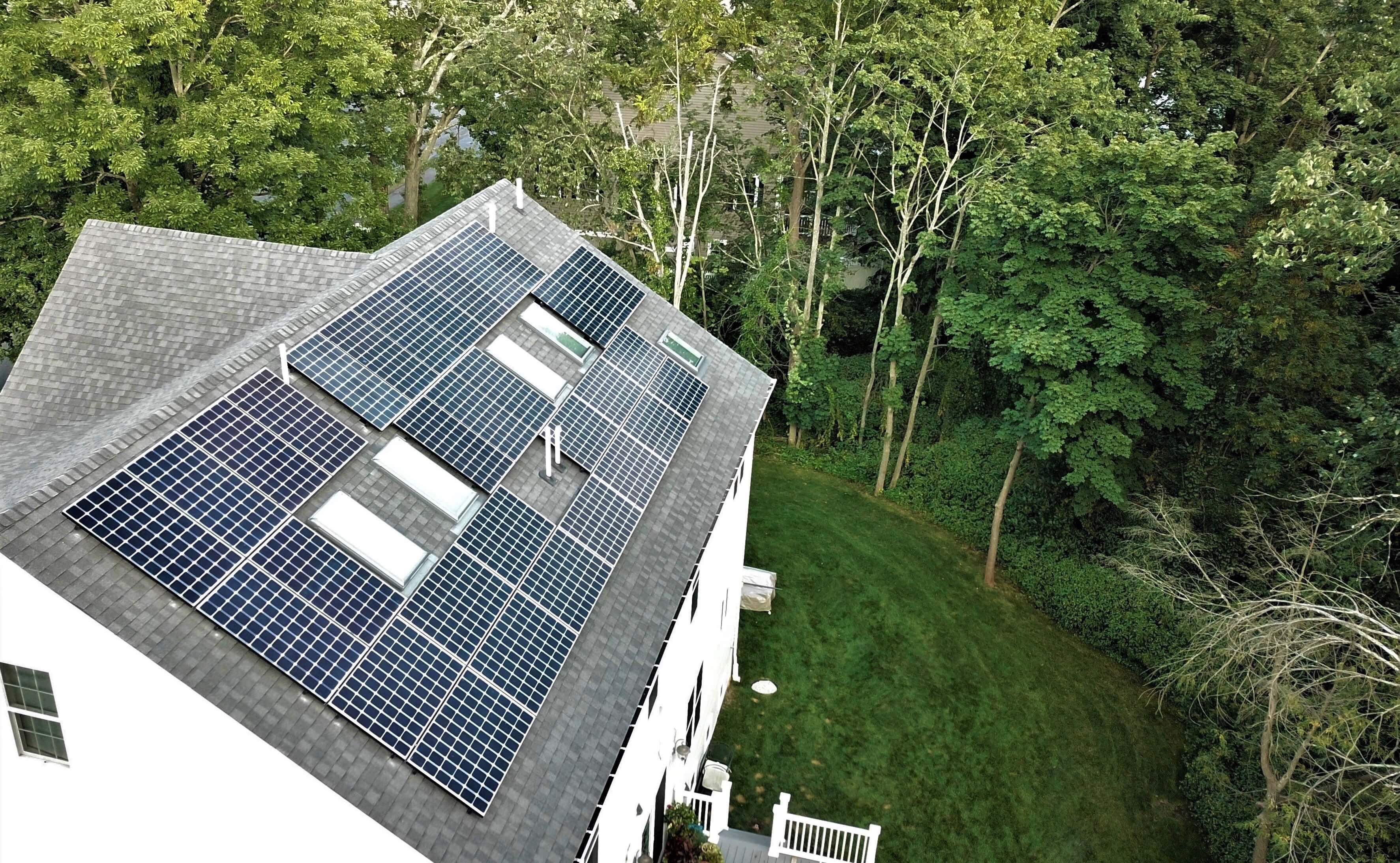 needham massachusetts south residential solar installation