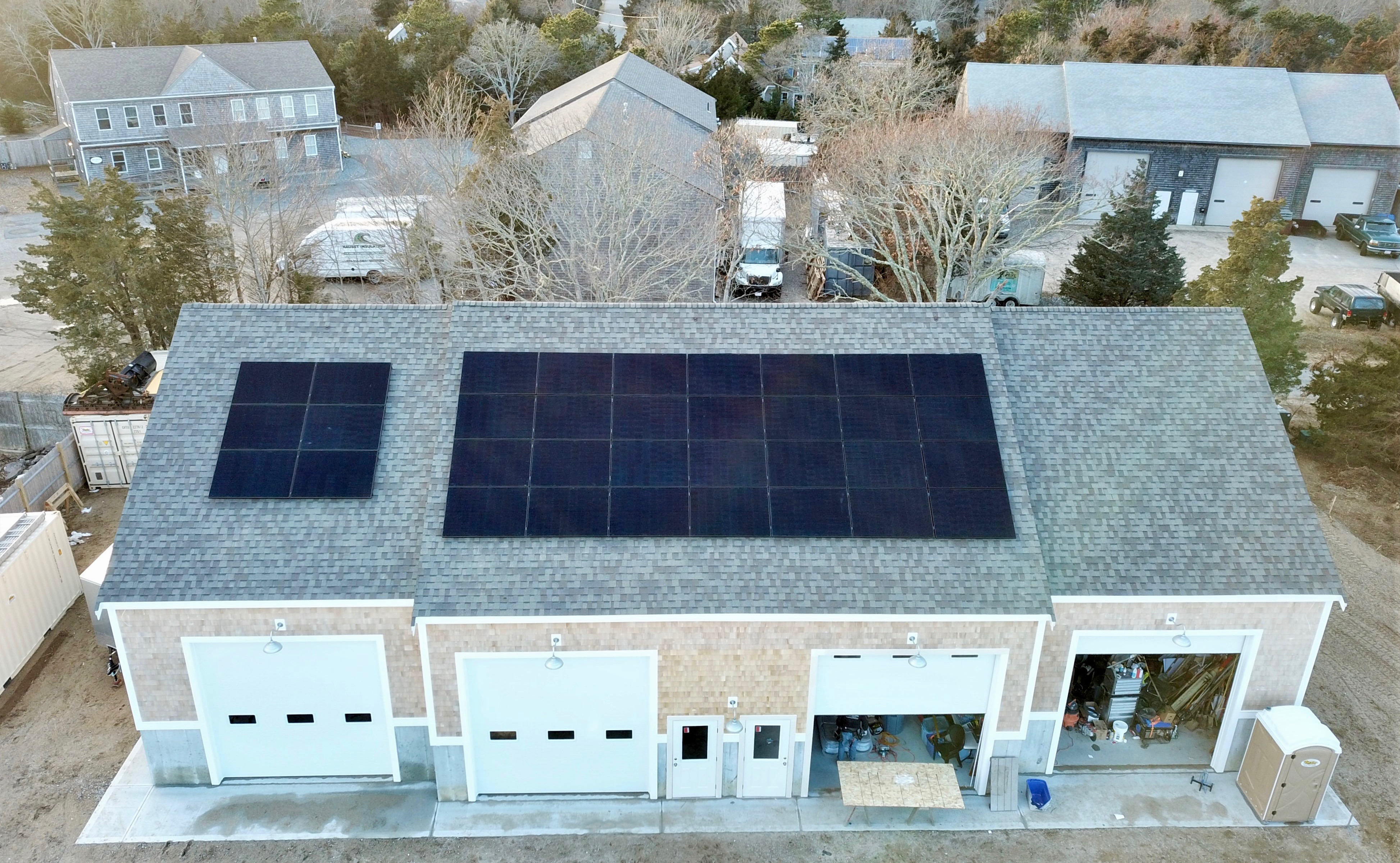 Cape Cod Commercial Solar Installation Eastham MA