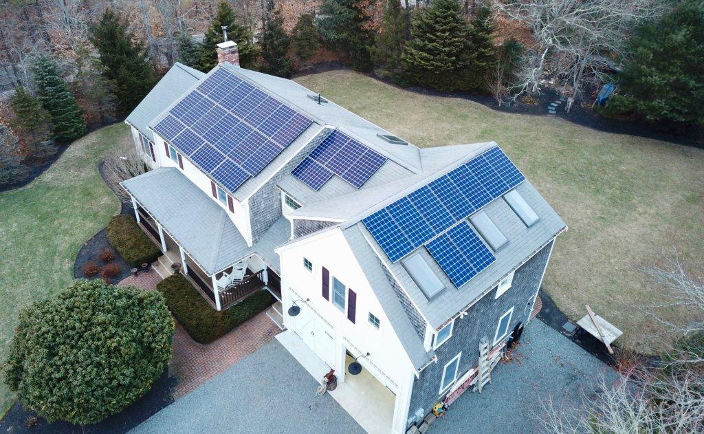 residential solar panels sandwich MA cape cod