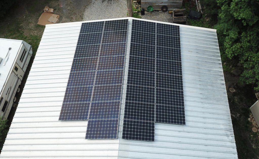 Hanson MA Solar Installation. My Generation Energy, Massachusetts solar installer.