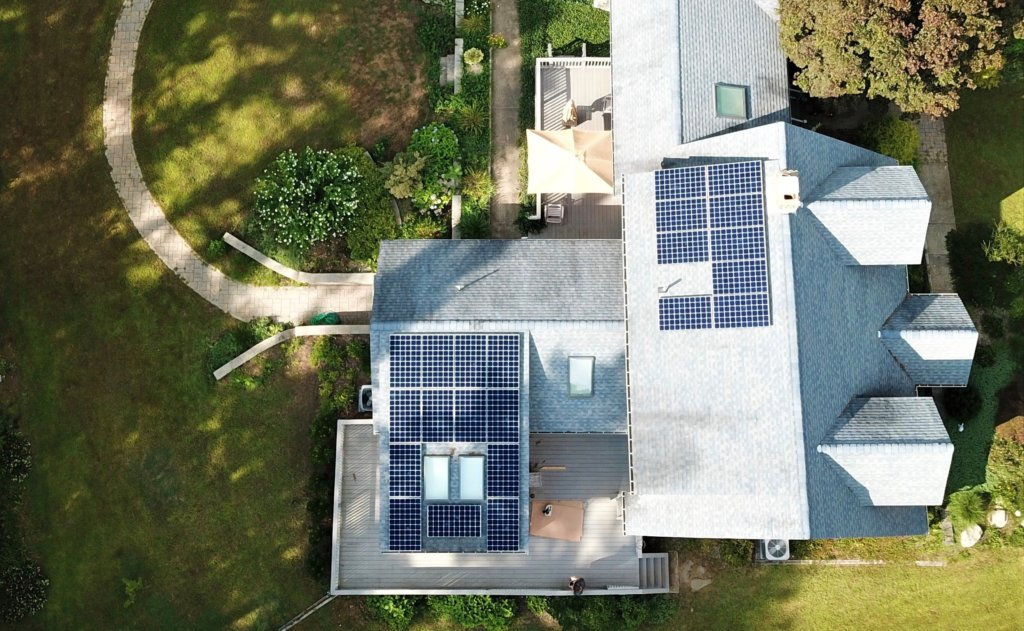 Residential solar installation in Middleboro Massachusetts