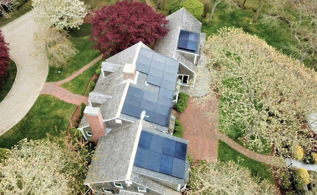 Cape Cod solar installation