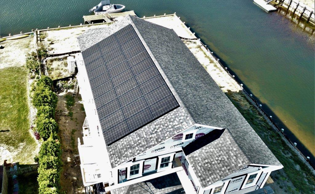 dennis cape cod rooftop solar installation