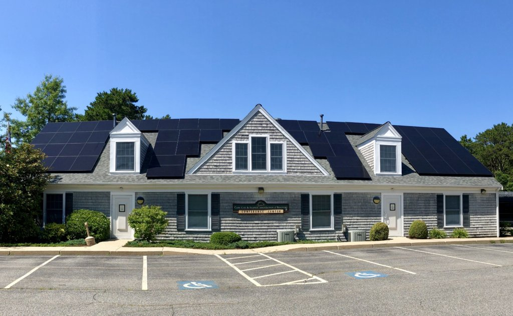 west Yarmouth cape cod commercial solar installation