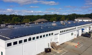 Hyannis commerical solar leasing project on Cape Cod by My Generation Energy