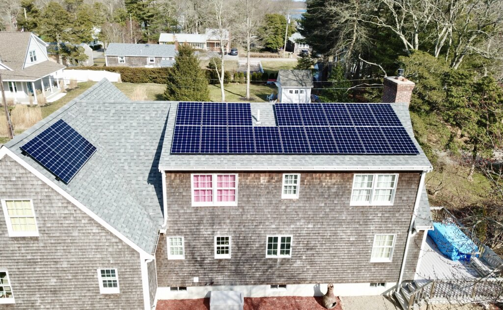 Mattapoisett residential solar installation by My Generation Energy