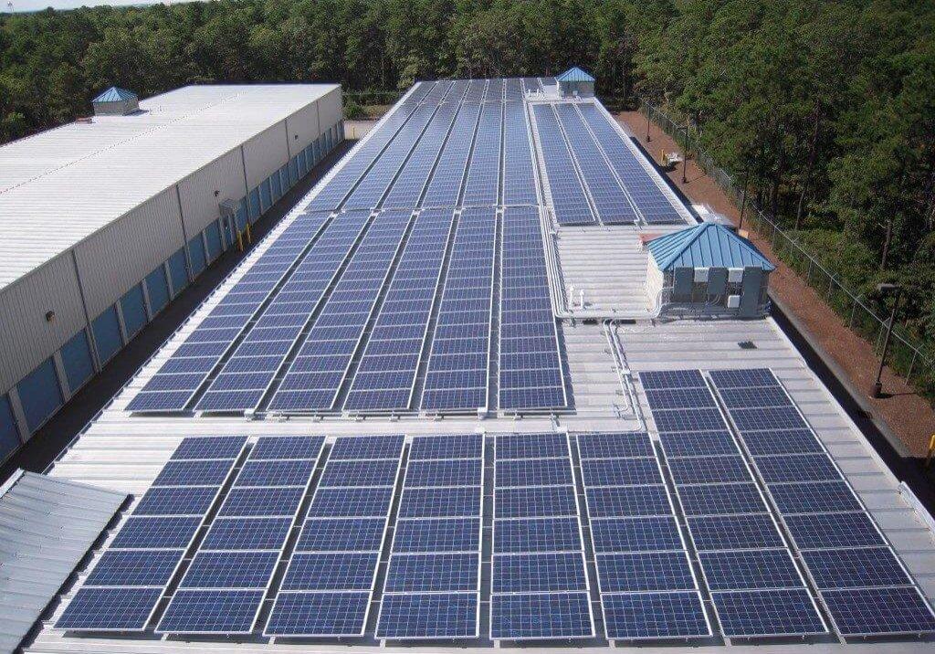 Anchor Self Storage Mashpee MA solar