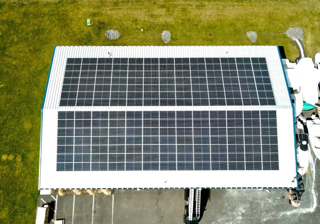 My Generation Energy installed commercial solar for Mashpee business.