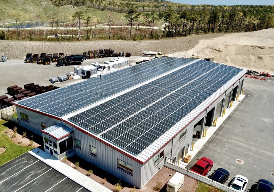 commercial solar installation by my generation energy