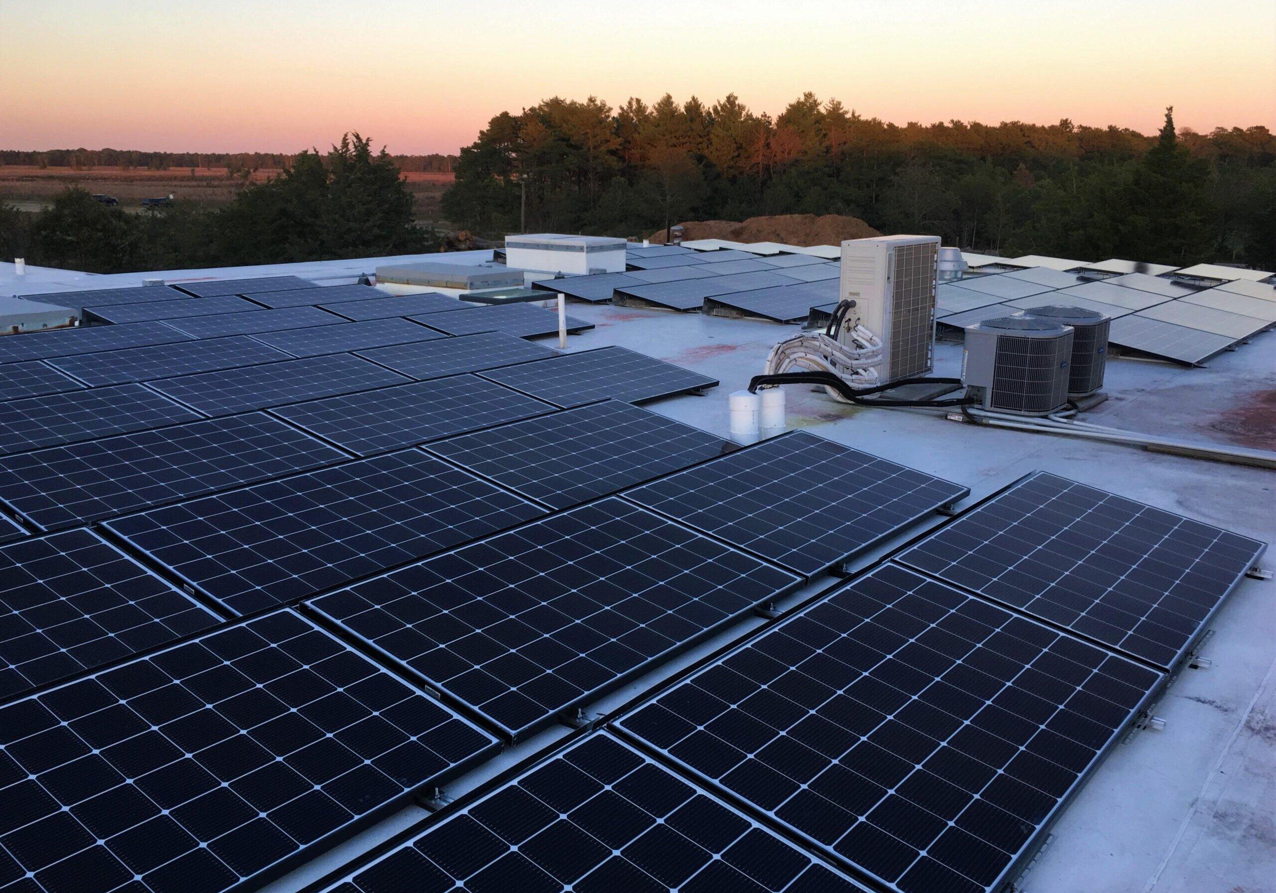 Falmouth Cape Cod Commercial Solar