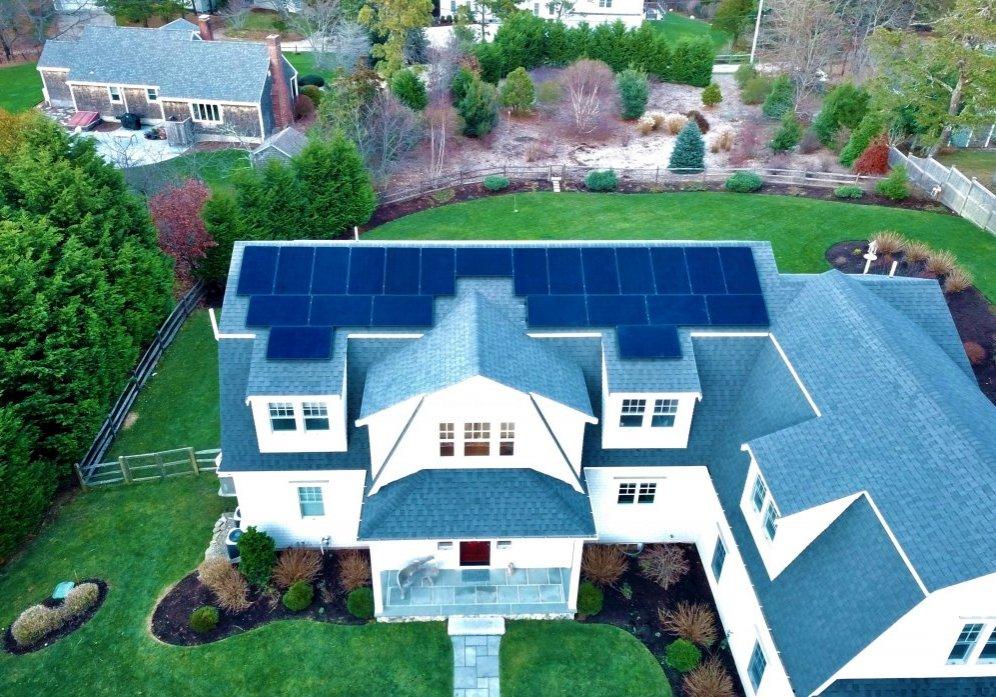 dennis residential solar installation by My Generation Energy