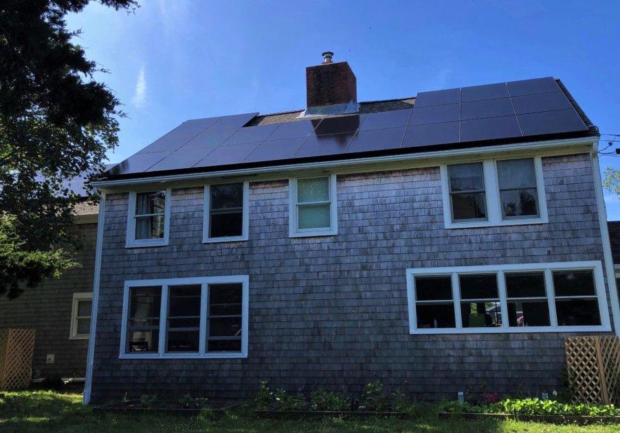Orleans MA Cape Cod Home Solar Installation