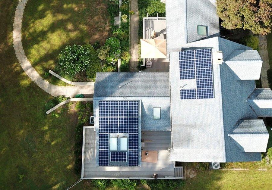 Residential solar installation in Middleboro Massachusetts