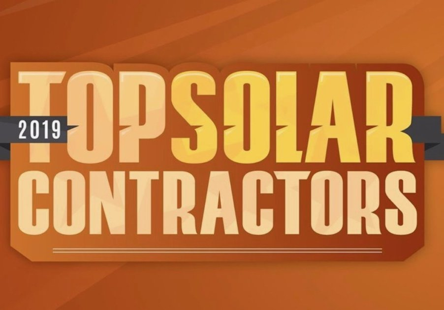 Solar Power World's 2019 List of the Top Solar Contractors