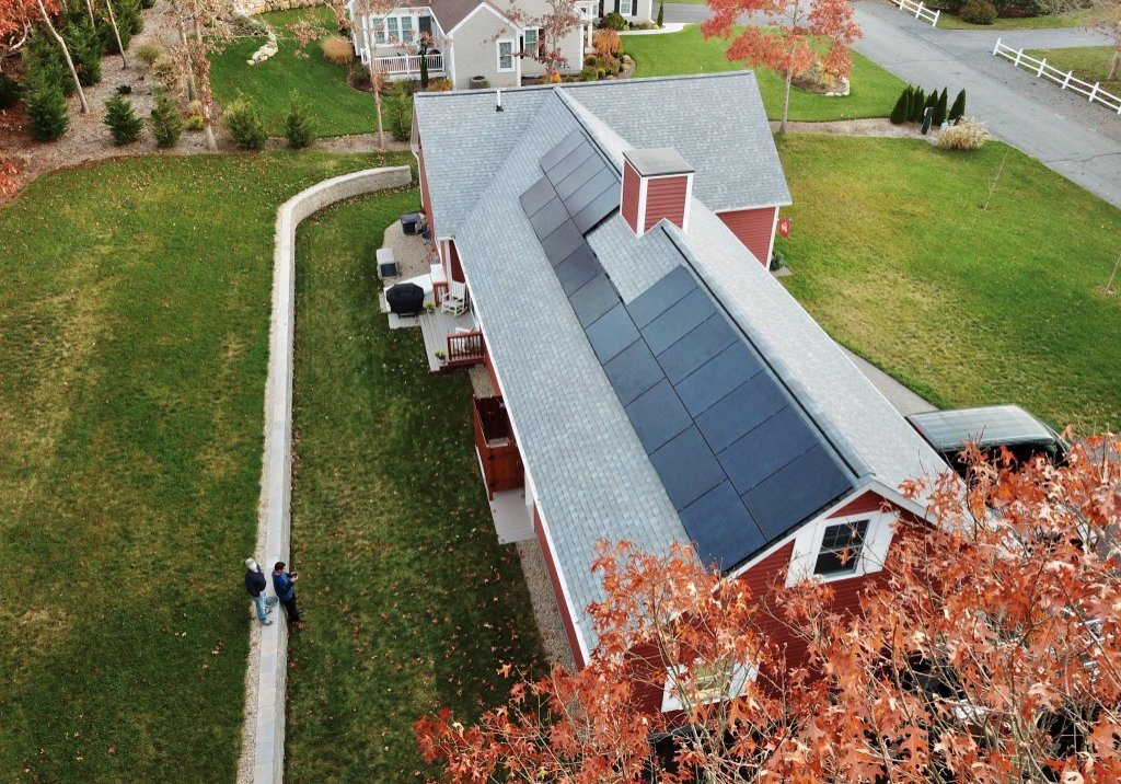dennis residential solar array